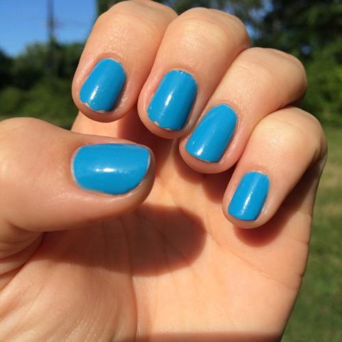 grieving blue