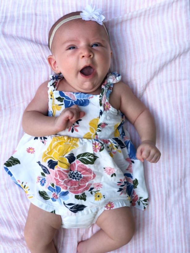 Emilia, 2 months